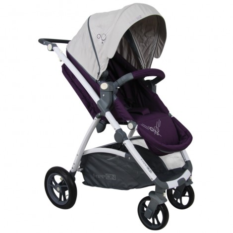 Carucior Copii 3 in 1 SMART TRIO Purple FreeOn